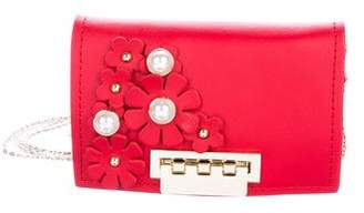 Zac Posen Floral Mini Chain Crossbody Bag w/ Tags