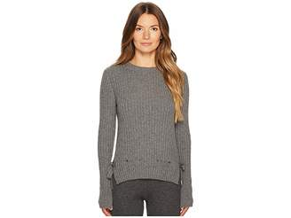 Veda Cashmere In Love Pullover with Belt Women's Clothing