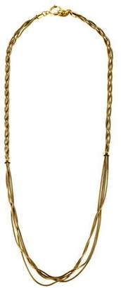 Diane von Furstenberg Twisted Chain Necklace