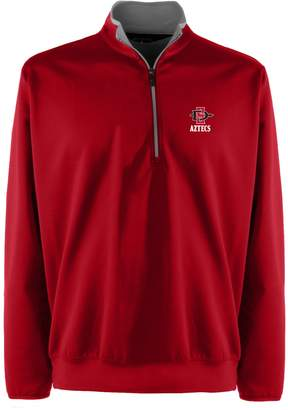 Antigua Men's San Diego State Aztecs 1/4-Zip Leader Pullover