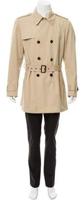 Theory Double Breasted Trench Coat