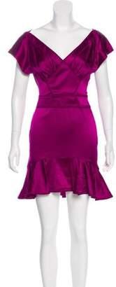 Zac Posen Silk Mini Dress