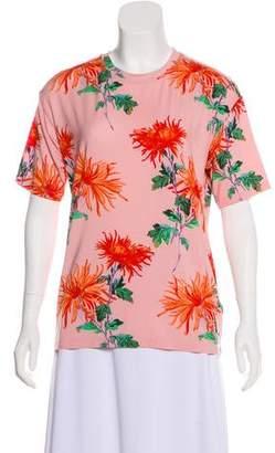 Diane von Furstenberg Floral Boyfriend Tee