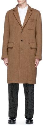 Uma Wang 'Giovanni' brushed virgin wool coat