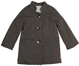 Woven Organic Cotton Quilted Coat