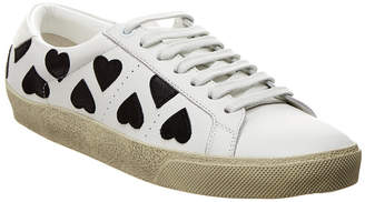 Saint Laurent Court Classic Sl/06 Lolita Leather Sneaker