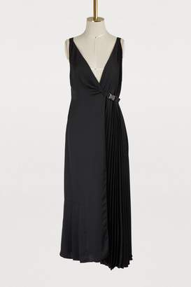 Prada Asymmetrical sleeveless dress
