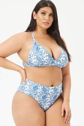 ba0d8502ab3 Forever 21 White Plus Size Swimsuits - ShopStyle Canada