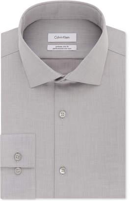 Calvin Klein Men's X Extra-Slim Fit Performance Non-Iron Dress Shirt
