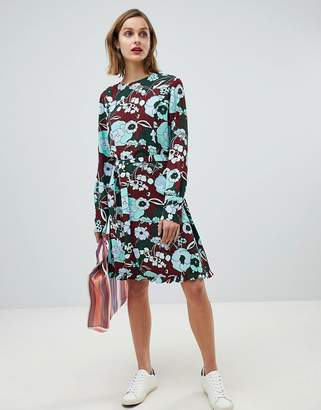 Essentiel Antwerp bloom print mini dress