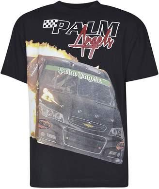 Palm Angels Race Car Print T-shirt