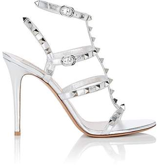 Valentino Women's Rockstud Leather Multi-Strap Sandals