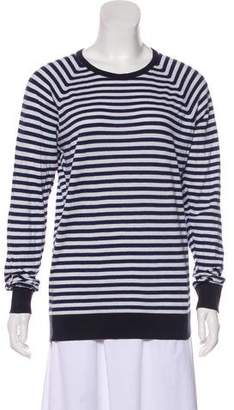 John Smedley Striped Knit Sweater