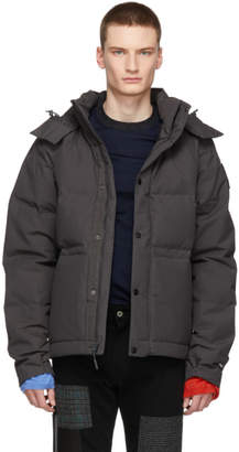 The North Face Grey Down Box Canyon Jacket