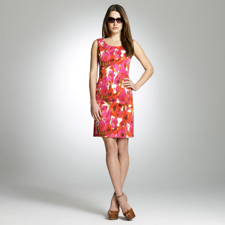 Jones New York Floral Shift Dress