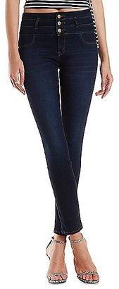 Refuge Hi-Waist Super Skinny Dark Wash Jeans $32.99 thestylecure.com