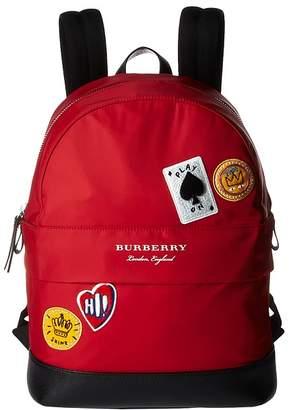 Burberry Nico Cards Slim Backpack Bags
