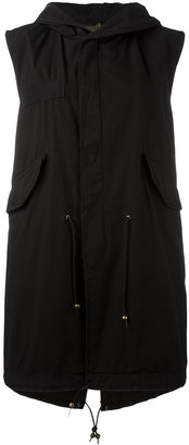 Mr & Mrs Italy hooded gilet $854.31 thestylecure.com