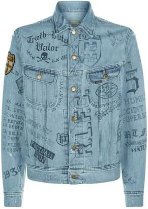 Polo Ralph Lauren Denim Drawing Jacket
