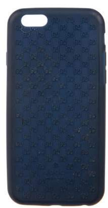 Gucci Microguccissima iPhone 6 Phone Case Navy Microguccissima iPhone 6 Phone Case