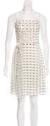 Armani Collezioni Silk Mini Dress