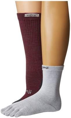 Injinji Liner Hiker Women's Crew Cut Socks Shoes