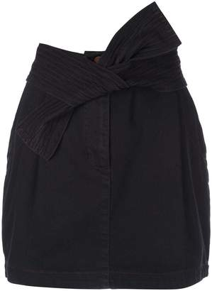 Ulla Johnson tie detail mini skirt