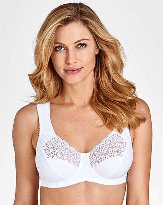 Miss Mary Of Sweden Miss Mary Cotton and Lace Wired Bra