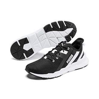 Puma Women's Weave XT WN's Fitness Shoes, Black White, 6 (39 EU)