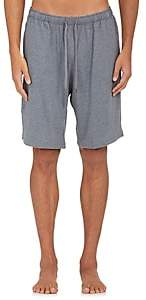 Derek Rose Men's Fluid Jersey Drawstring-Waist Shorts-Charcoal