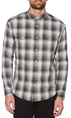 Original Penguin Plaid Button-Down Shirt