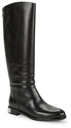 Marc By Marc Jacobs Kip Leather Knee-High Boots $598 thestylecure.com