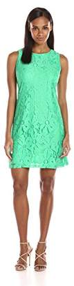 Ronni Nicole Women's Sleeveless Daisy Lace Shift