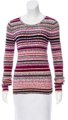 Tanya Taylor Striped Long Sleeve Sweater w/ Tags