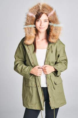 Ellison Fur Hood Jacket