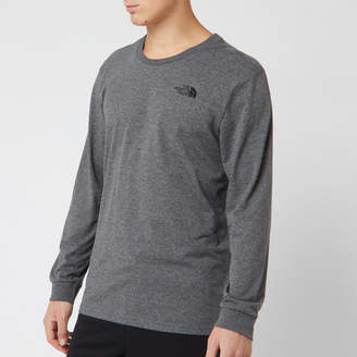 Men's Long Sleeve Simple Dome T-Shirt