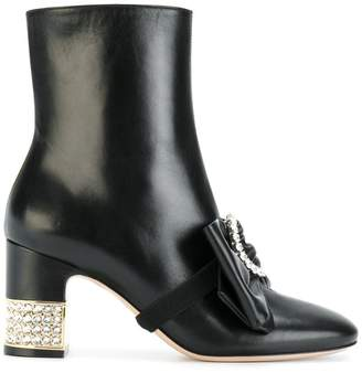 Gucci stone ankle boots