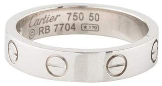 Cartier 1 Diamond LOVE Wedding Band