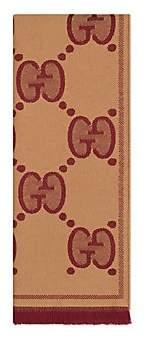 Gucci Men's GG Wool Jacquard Scarf