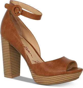 American Rag Reeta Block-Heel Platform Sandals, Women Shoes