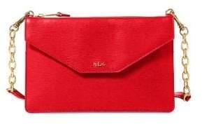 Lauren Ralph Lauren Saffiano Leather Crossbody Bag