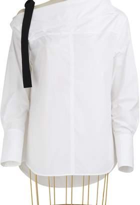 Proenza Schouler Asymmetrical Cotton Shirt