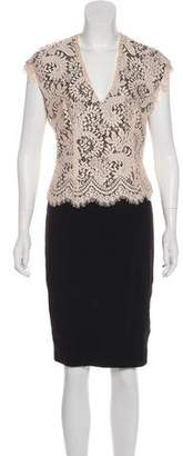 Ted Baker Guipure Lace Sheath Dress