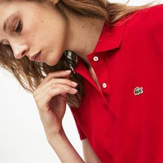 Lacoste Women's Classic Fit Soft Cotton Petit Pique Polo Shirt