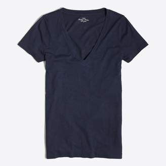J.Crew Factory Featherweight slub cotton V-neck T-shirt