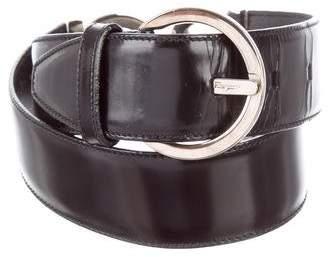 Salvatore Ferragamo Gancini Waist Belt