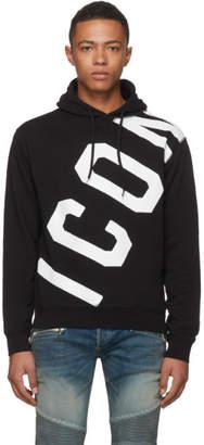 DSQUARED2 Black Logo Hoodie