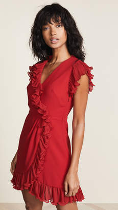 Jill Stuart Ruffle Trim Dress