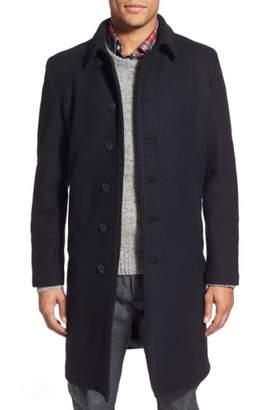 Schott NYC Wool Blend Officer's Coat