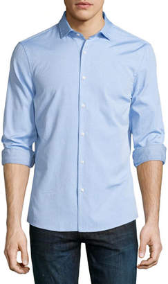 Michael Kors Slim-Fit Long-Sleeve Oxford Shirt